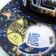 【2018AW新作】フォトプリント&刺繍入り BB CAP