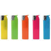 【名入れ可能】シアトルカラー 半スライド式電子ライター
