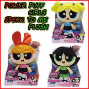 POWER PUFF GIRLS  SPEAK TO ME PLUSH 【パワーパフガール スピーク トゥ ミー プラッシュ】