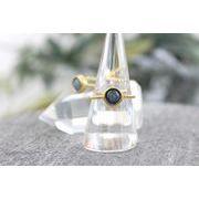天然石リング カイヤナイト(まる)  品番: 8623