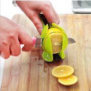 スライスホルダー スライストング クランプ スライスヘルパー キッチンツール レモン トマト