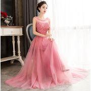 パーティー お呼ばれ フォーマル ロング丈 花嫁 ウェディングドレス プリンセス ブライズメイド服