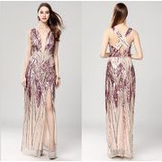 イブニングドレス ナイトドレス ウェディングドレス ロング二次会ドレス パーティードレス 花嫁ドレス