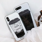 iphone xs maxケース 揺れ動く iPhone 10 ケース 流れるiPhone8 XR ケース かわいい