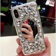 宝石ミラスマホケース iphone保護ケース スマホケース iphoneXSケースIP0348