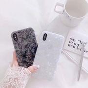 iphoneXsMAX フェミニン シェルカラー パール iPhone ケース 送料込