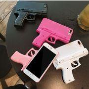 iPhoneピストルケース 7/8 6/6s plus iphoneケース スマホケース