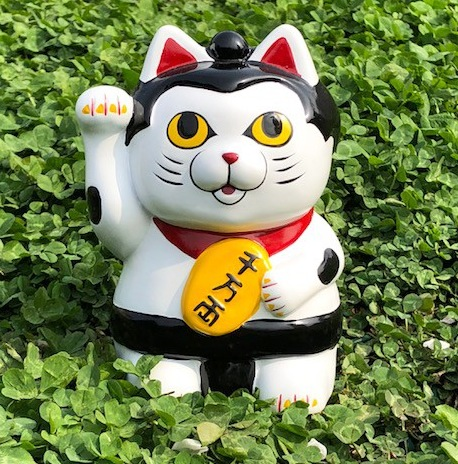 ご利益、ヨコヅナ級!? 猫綱 貯金箱