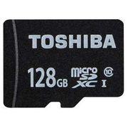 東芝 マイクロSDHCカード128Gクラス10 MSDAR40N128G