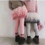 キッズパンツ 女の子 キュロット スカート付きパンツ 90-130 ズボン
