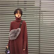 フェイクファーウエストポーチ ウエストバッグ エコファー 【EruMon】