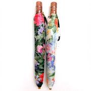 【日本製】【折りたたみ傘】日本製小格子ジャガード極薄生地軽量折畳傘