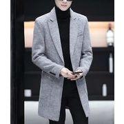 秋冬新作メンズコート ジャケット トップス シンプル おしゃれ♪全4色