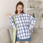 秋冬新商品730017 大きいサイズ 韓国 レディース ファッション ワンピース シャツ
