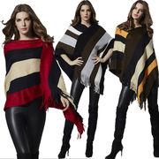 秋冬新商品730038 大きいサイズ 韓国 レディース ファッション ニット 秋新商品 ポンチョ