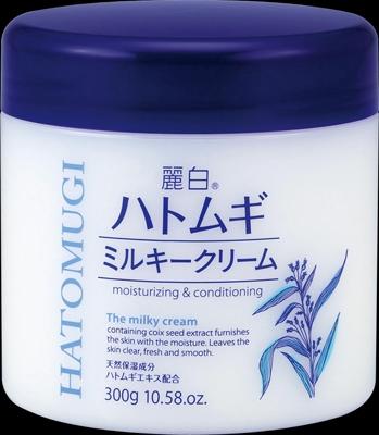 麗白 ハトムギミルキークリーム 【 熊野油脂 】 【 ボディクリーム・ローション 】
