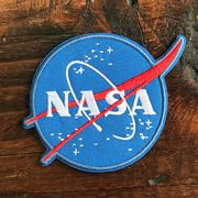 【予約販売】NASA公認ワッペン・アップリケ・NASAロゴ・インサイニア(ミートボール)