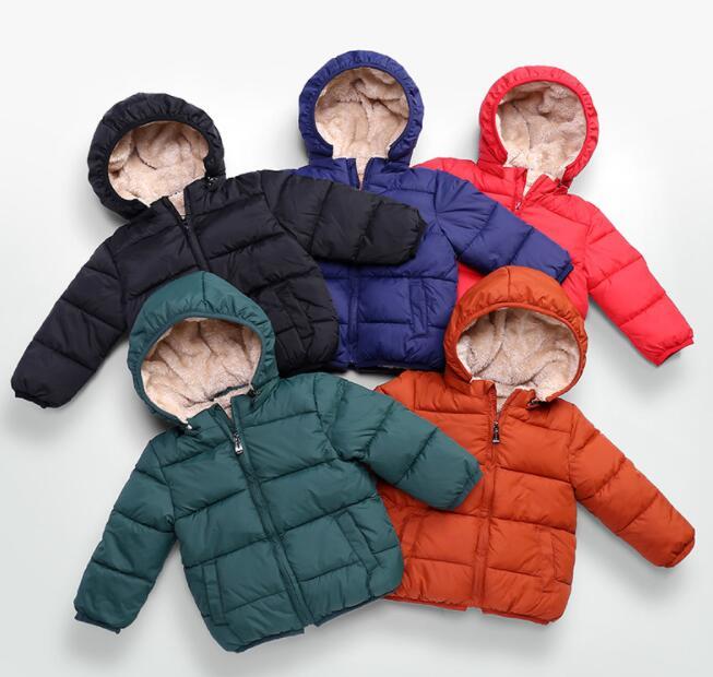 子供コート ジャケット 厚手 男の子 キッズ服 冬 90-130 5色 防寒