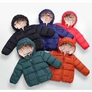 子供コート ジャケット 厚手 暖かい 男の子 キッズ服 冬 90-130 5色 防寒