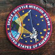 【予約販売】NASA公認ワッペン・アップリケ・スペースシャトルミッション・STS-99