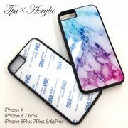 TPU アクリル DIY 高品質 クリア iPhone ケース iPhone 8 X XS XR ケース スマホケース