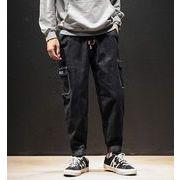 秋冬新作メンズジーンズ パンツ大きいサイズ おしゃれ ゆったり