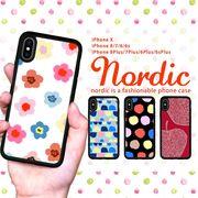 予約販売 iPhone ケース iPhone XS XSMax XR ケース スマホケース 北欧 水彩 花柄 手描き ブランド