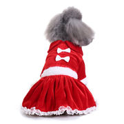 冬物 ペット服 犬服 猫服 クリスマス チョウ ペット用品 ネコ雑貨