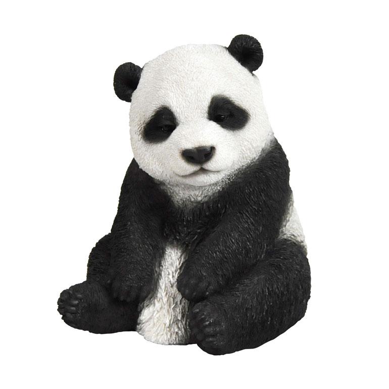 <AMANO>【レジン製パンダ】ベビーパンダ・居眠り