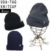帽子 ニット帽 メンズ レディース ニット キャップ ワッチ リブニット アメリカ タグ キーズ Keys