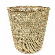 イリンガバスケット透かし編み バケツ型 L
