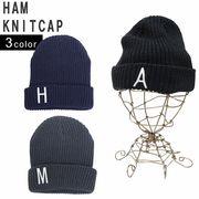 帽子 ニット帽 メンズ レディース ニット キャップ ワッチ リブニット 英字 ワッペン キーズ Keys