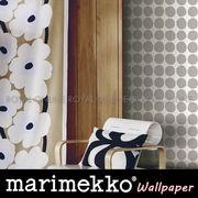S) 【マリメッコ】 23380 フリース壁紙 Pienet kivet [10mロール] 全2色