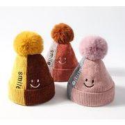 新登場!冬の新品★大人気★ハット★子供 毛糸の帽子★ニット帽子★暖かい