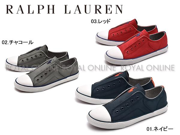 【ポロ ラルフローレン】 RF10098 ROWENN スニーカー 靴 シューズ 全4色 レディース&ジュニア