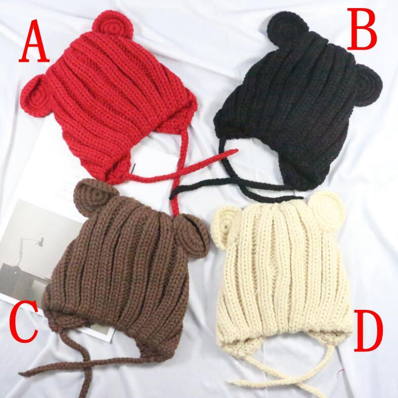 25132e43c76a2 ... 帽 9色. 激安☆子供ハット ベビー・キッズ用帽子 冬 帽子 ニット ...