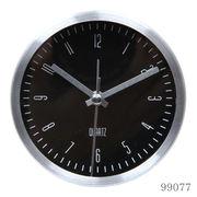 置き時計 イースト ラウンド ブラック