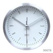 置き時計 イースト ラウンド ホワイト