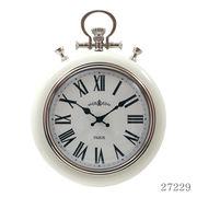 掛け時計 レイル Φ31cm クリーム