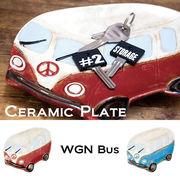セラミック プレート WGN Bus Plate★
