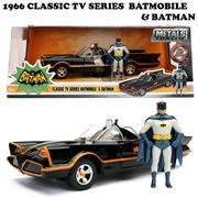 1966 CLASSIC TV Series BATMOBILE W/BATMAN【バットモービル】【JADA ミニカー】