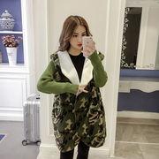 秋冬新商品730313 大きいサイズ 韓国 レディース ファッション ファー コート  3L 4L 5L 6L