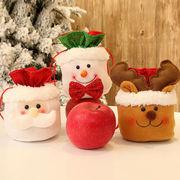 クリスマス 巾着ラッピング ラッピング袋 バッグ クリスマス用品 飾り モコモコ