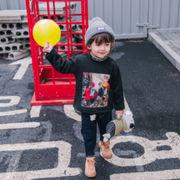 キッズ パーカー コート 厚手 ップス Tシャツ ファッション 長袖 韓国子供服 SALE