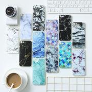 1-6★iPhone8 iPhone7 Plus ケース マーブル柄アイホンケース