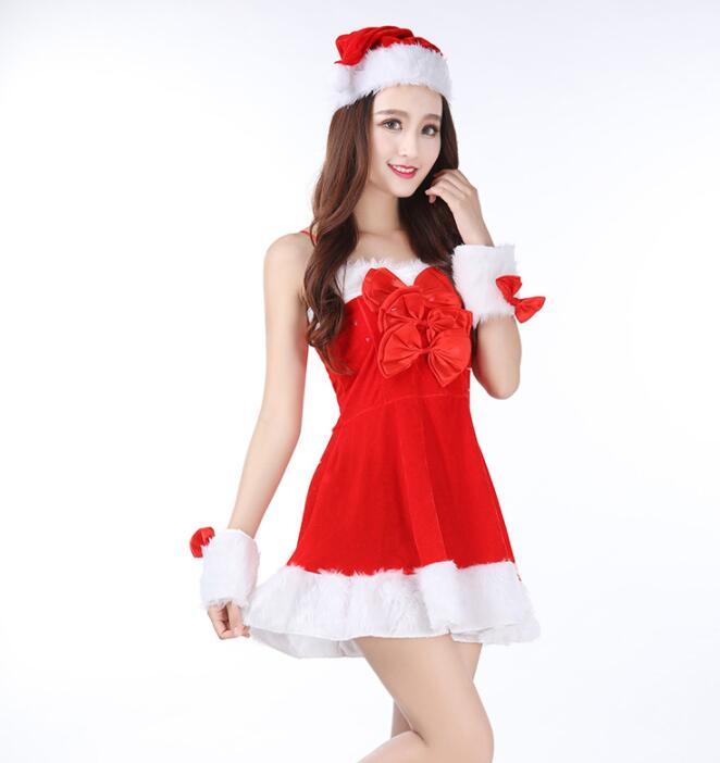 レディースクリスマス衣装 コスプレ衣装 キャミソール サンタコスチューム