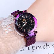 ファッションウォッチ マグネットバンド クォーツ メタルバンド 時計 腕時計