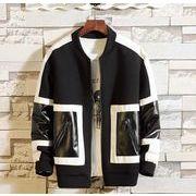 秋冬新作メンズジャケット トップス シンプル おしゃれ♪グレー/ブラック2色