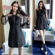 2018新柄追加  韓国ファッション  CHIC気質  スリム  ワンビース