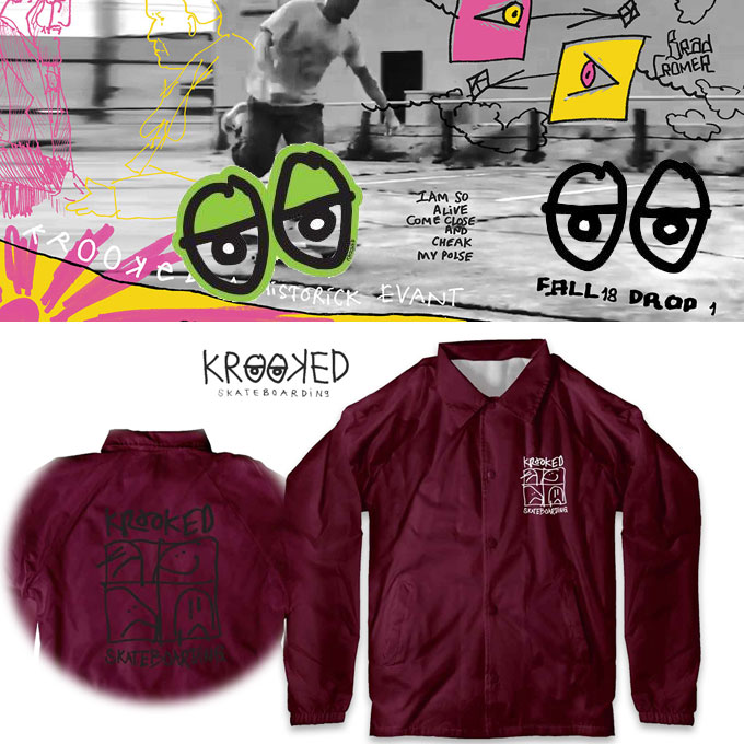 KROOKED KD ULTRA COACHES JACKET  17171
